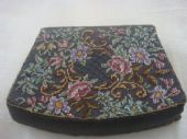 1940s Coin Purse - Austrian Petit Point Embroidery